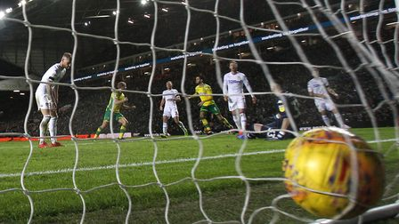 Kiko Casilla could not stop Mario Vrancic's shot from slipping into the net, as Norwich City beat Ma