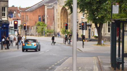 Tombland could be set for a transport and pedestrian overhaul. Picture: Archant
