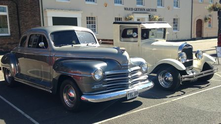 Hundreds of people filled the Tuesday Market Place for the Classic Car Day event on Heritage Open Da