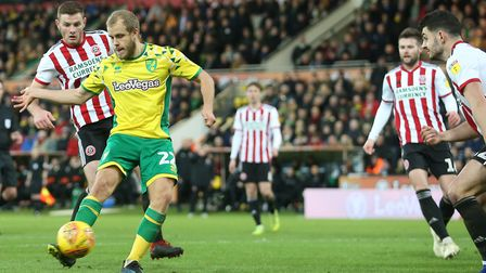Teemu Pukki scored from his only shot on target against the Blades
