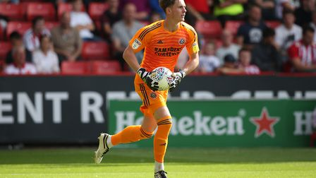 Dean Henderson has been excellent for Sheffield United this season Picture: Paul Chesterton/Focus Im