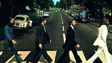 The Beatles - Abbey Road. Picture Archant.
