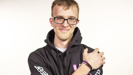 Wymondham man Tom Stevenson who has been diagnosed with cancer twice is supporting the CLIC Sargent