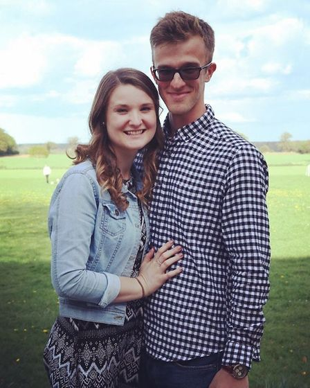 Tom Stevenson had proposed to his fiance Amy two months before he learnt his tumour had returned. Pi