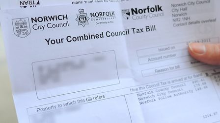 Norfolk County Council's finance officer has said he would recommend larger council tax increases in