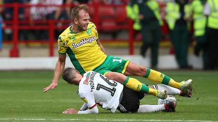 Blades runner Part II is this weekend as Sheffield United head to Carrow Road Picture: Paul Chestert