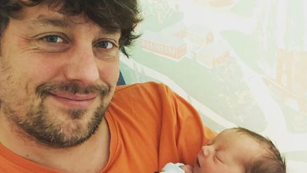 Chris McGuire is celebrating the recent arrival of a new daughter