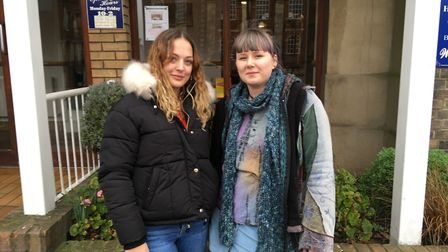 Alice Overton, 23, and Emily Nurse, 21, are support workers in Great Yarmouth. They both voted remai