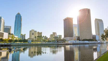 Downtown Tampa as viewed from alongside the Hillsborough river Picture: Visit Tampa Bay