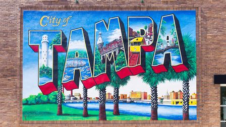 Tampa is on the west coast of Florida Picture: Visit Tampa Bay