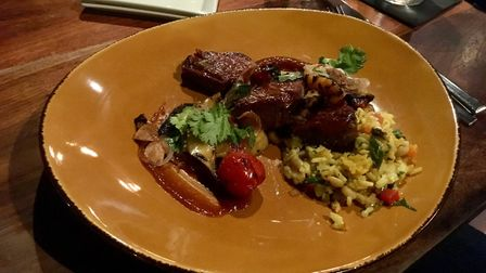 Eating at Edison Food + Drink Lab in Tampa is highly recommended Picture: David Freezer
