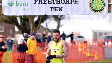 Ash Harrell took first place at Freethorpe on Sunday. PICTURE: Jamie Honeywood
