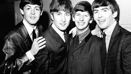 The Beatles pictured in 1963, from left, Paul McCartney, John Lennon, Ringo Starr and George Harriso