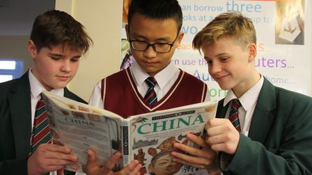 Pupils at Reepham High School and College were delighted to welcome 33 Chinese pupils and their teac