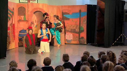 Children at Acle St Edmund C of E Primary School had a thoroughly good time watching M&M Theatre Pro