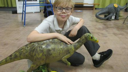 Year 6 at St William's Primary School had a great day learning about rocks, dinosaurs and evolution.