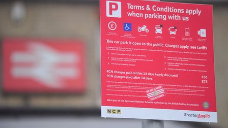 The cost of parking charges at Greater Anglia stations in Norfolk has rise by up to 25%. Picture: S