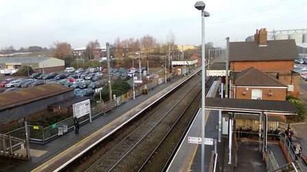 Diss station where the cost of annual parking tickets has risen by 10% with the cost of day and week