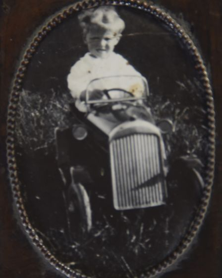 Colin Hunt at a young age at the family home in Tottington. Picture: courtesy of Colin Hunt
