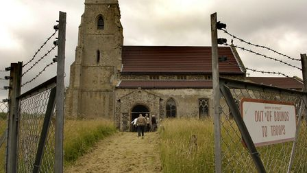 In 2005, former villagers return to the church in Tottington and visit the areas where the village o