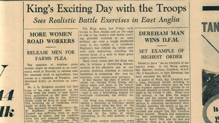 Stanta (Tottington) report in the Norwich Mercury - 15 Aug 1942. Picture: EDP Library