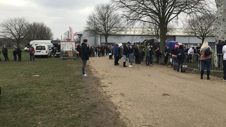 The empty fields as people struggle to justify the pricetag of the 'Fortnite Live' event held at the