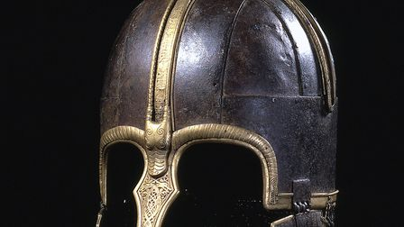 The Coppergate Helmet, also known as the Anglian Helmet or the York Helmet. Image courtesy of York M