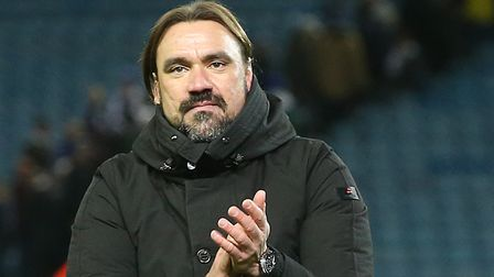 Daniel Farke is now focused on Ipswich Town after a memorable win at Leeds Picture: Paul Chesterton/
