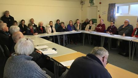 Nearly 50 people attended the meeting in Connaught Hall on Saturday (February 2, 2019) discussing a