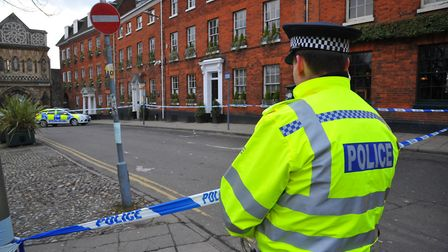 Police officers will be replaced by 'scene guards' on zero hours contracts at crime scene seals. Pho