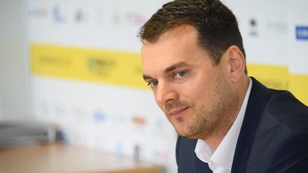 Norwich City sporting director Stuart Webber wants clarity from Leeds over Spygate Picture: Denise B
