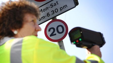 Community Speed Watch volunteers in Breckland and South Norfolk caught 707 drivers in January. Pictu