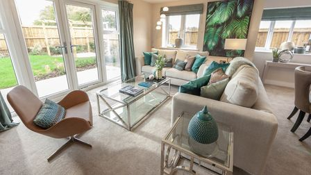 Dewside's quality collection of homes continues to prove popular with a range of buyers. Picture: Lo