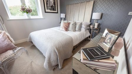 Dewside's marketing suite and show homes are open from Thursday-Monday, 10-5pm. Picture: Chris Baynh