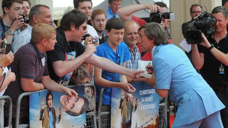 Film premier of Alan Partridge: Alpha Papa at Hollywood Cinema, Anglia Square, Norwich, which has no