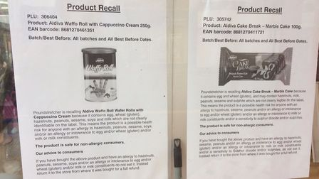 Poundstretcher in Great Yarmouth has posted recall notices. Photo: Archant