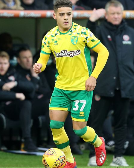 Max Aarons made his Norwich City debut against Ipswich Picture: Paul Chesterton/Focus Images Ltd