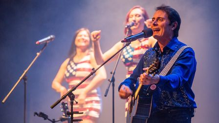 Hello Again The Story of Neil Diamond is performed at the Marina Theatre in Lowestoft on Friday, Fe