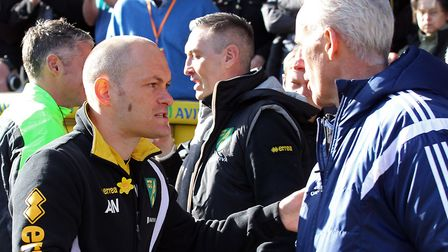 Alex Neil managed more derbies without losing, five, than anyone else Picture: Paul Chesterton/Focus