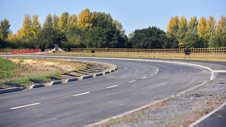 Official opening of the new £7m Beccles Southern Relief Road.Picture: Nick Butcher