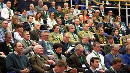 The 2019 Norfolk Farming Conference at the John Innes Centre in Norwich. Picture: Keiron Tovell
