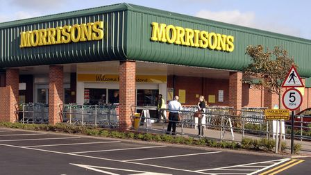 Morrisons in Gorleston, where Mark James was a senior manager. Photo: Andy Darnell