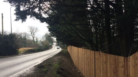 The A140 as it passes through Tasburgh, which is a blackspot for accidents. PHOTO: Sophie Smith
