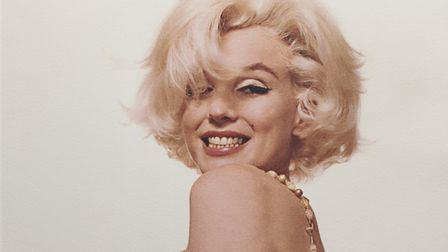 Marilyn Monroe was pipped to the 'entertainers' crown by David Bowie Photo: Kudos/Bert Stern
