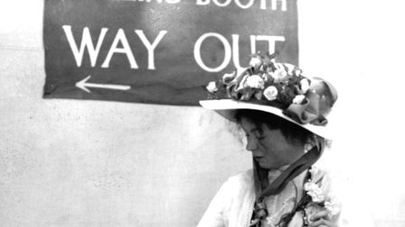 Suffragette Emmeline Pankhurst was longlisted in the 'activists' catagory, but failed to win the pub