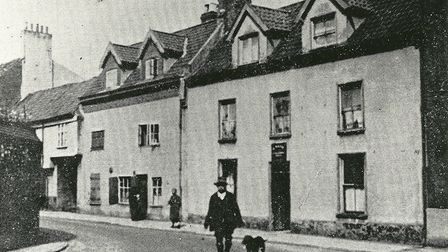 Tabernacle Street in Norwich where Sheward murdered his wife and dismembered her body (Picture: Arch