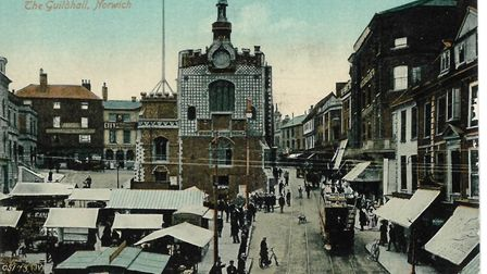 The Guildhall in Norwich when it was the police station. (Picture: Archant)