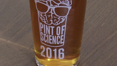 At a Pint of Science Festival event. Picture: Steve Adams