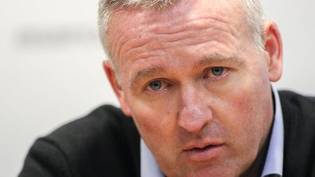 Ipswich Town manager Paul Lambert is ready for a hot reception at Carrow Road Picture: Steve Wal