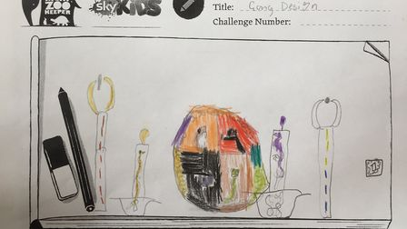 Tilney All Aints primary school Arran's design that has been chosen to appear in an episode of 'Nigh